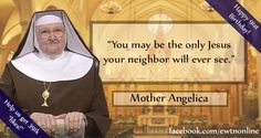 """Help #EWTN celebrate Mother Angelica's 91st #birthday with 391k """"likes!"""""""