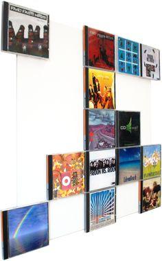 Das CD Wandregal, dass sich deiner Wandfarbe anpasst - nun auch in weißer Grundfarbe erhältlich!