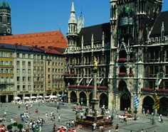 Munich, Germany, Europe: Marienplatz