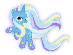 Rainbow Power Trixie by xebck on DeviantArt