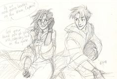 Harry and Ginny genderbent