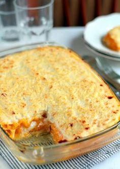 Receta de lasaña de calabaza y parmesano | Cocina Para Emancipados Pumpkin Recipes, Veggie Recipes, Low Carb Recipes, Vegetarian Recipes, Cooking Recipes, Healthy Recipes, Quiches, Omelettes, Good Food
