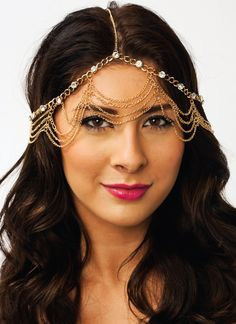 DIY headpiece idea maybe make one with sheer fabric as veil.