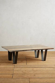 Encased Plank Coffee Table