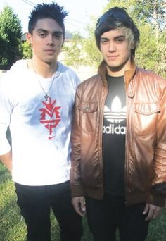 John and Lenny... The twins of Justice Crew <3