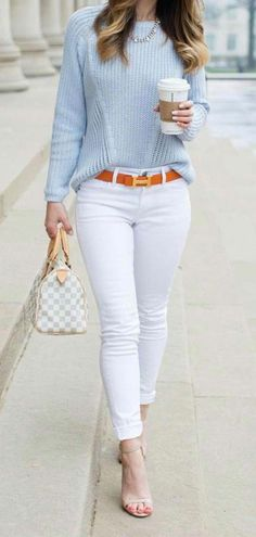 10 Best Spring Outfit Ideas For Work - Casual Work Outfits Preppy Summer Outfits, Classy Work Outfits, Casual Fall Outfits, Work Casual, Trendy Outfits, Winter Outfits, Preppy Work Outfit, Smart Casual, Casual Wear For Women