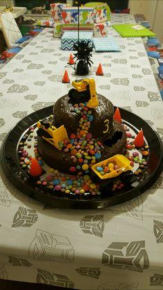 Construction Cake / Bagger Kuchen 3/3 Mehr