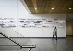 Newhouse School Digital Donor Wall
