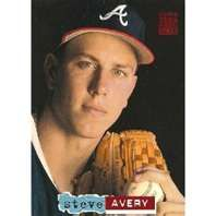 Steve Avery, my favorite Pitcher of all time!