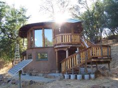 From active rain.  Building a cob house would be a cost effective and energy efficient alternative to a small log cabin.