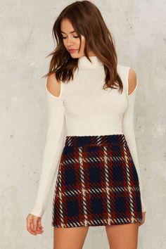 Ronan Mini Skirt - Clothes   Grunge   Best Sellers   Last Chance