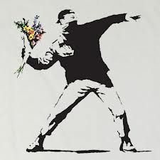 Banksy Graffiti Art - Gallery Some cool and creative graffiti art by Banksy. Banksy Graffiti, Street Art Banksy, Arte Banksy, Graffiti Kunst, Bansky, Banksy Wall Art, Banksy Artwork, Banksy Canvas, Graffiti Lettering