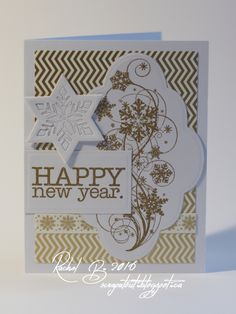 Scrapatout - Handmade card, Winter, Impression Obsession, Snowflake, New Year