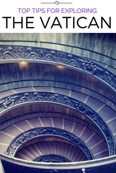This secret staircase is just one of the must-sees in the Vatican. Click to find out other top tips for visitors.