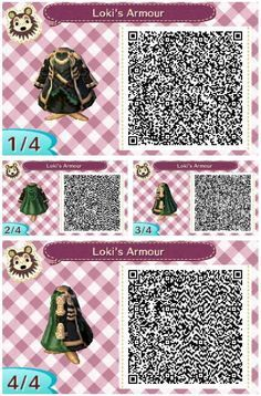 Loki's armor ~ Looks really cool with the Gas Mask, Blac. - Loki's armor ~ Looks really cool with the Gas Mask, Black Leggings, and Steel-toed Boots. Animal Crossing 3ds, Animal Crossing Qr Codes Clothes, Loki, Post Animal, My Animal, Jack Black, Film Manga, Motif Acnl, Ac New Leaf