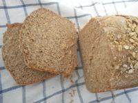 Teljes kiőrlésű zabpehely kenyér