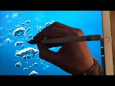 HOW TO DRAW BUBBLES UNDERWATER Apple Pencil drawing tutorial iPad pro - YouTube