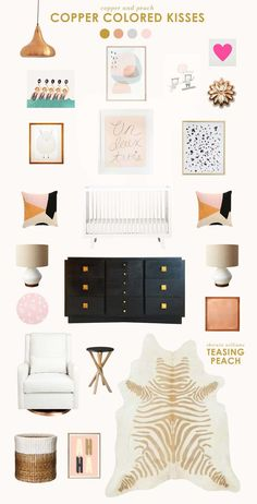 furniture night be for babies, but the color scheme is sophisticated & is right up your alley!