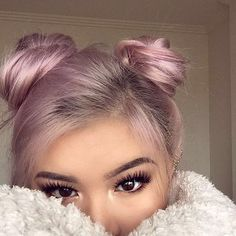 Jul 2018 - Our selection of covetable locks for hair inspiration! See more ideas about Hair inspiration, Long hair styles and Hair. Hair Color Pink, Hair Colors, Pastel Pink Hair, Greyish Purple Hair, Metallic Hair Color, Coloured Hair, Rose Gold Hair, Dusty Rose Hair, Silver Hair