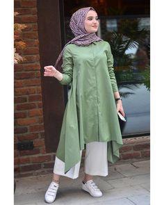 Hijab Fashion Summer, Modest Fashion Hijab, Modern Hijab Fashion, Frock Fashion, Muslim Fashion, Hijab Style Dress, Casual Hijab Outfit, Girls Fashion Clothes, Fashion Outfits