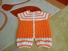 Enterizo orange