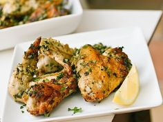 Arabic Food Recipes: Arabic Style Herbed Chicken Wings Recipe