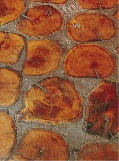 Как сделать дом из порезанных поленьев дров. — Столярный блог.