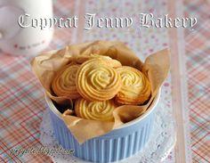 Copycat Jenny Bakery Butter Cookies 山寨珍妮牛油曲奇   The Yummy Journey