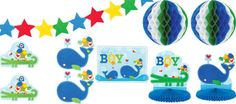 Ahoy Baby Boy Baby Shower Party Supplies - Party City