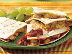Enchilada Quesadillas-Betty Crocker.
