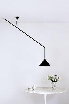Umleiter suspension lamp by Veronika Gombert