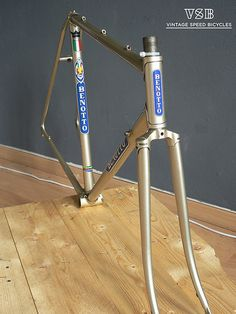 Benotto 3000 frame, campagnolo dropouts, made in italy