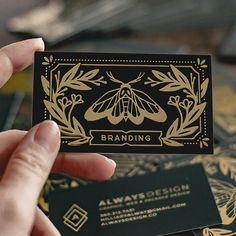 Here's how gold foil elevated the brand identity of some of our creative customers. Photographer Business Cards, Photography Business, Free Photography, Creative Photography, Corporate Design, Branding Design, Identity Branding, Visual Identity, Personal Identity