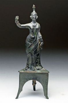 Parthian Bronze Priestess