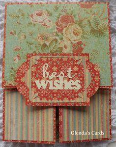 Glenda's Cards: Double Dutch Fold - Birthday Card