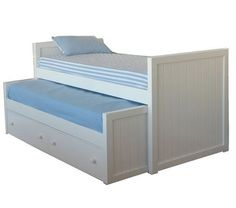 Catalogo on-line - Muebles Camas triples - Cama triple recta con cajones o nido