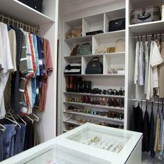 Confira 15 projetos de closet e inspire-se