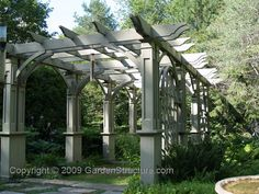 pergola, beautiful