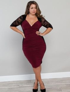 Clubbing dresses plus size - http://pluslook.eu/fashion/clubbing-dresses-plus-size.html. #dress #woman #plussize #dresses