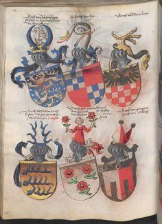 Grünenberg, Konrad: Das Wappenbuch Conrads von Grünenberg, Ritters und Bürgers zu Constanz um 1480 Cgm 145 Folio 169