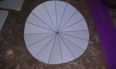 Pi & the Circumference of a Circle, Easy Project for Visual Reinforcement.