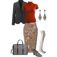 """Non-boring day at the office"" by maria-kuroshchepova on Polyvore"