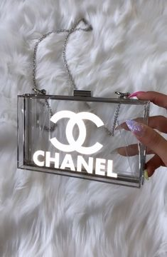 Reflective Double C — Welcome Luxury Purses, Luxury Bags, Fashion Bags, Fashion Accessories, Gucci Fashion, Fashion Goth, Leather Accessories, Women Accessories, Channel Bags