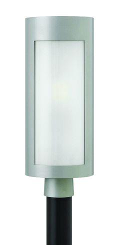 0-009500>Solara 1-Light Outdoor Post Light Titanium