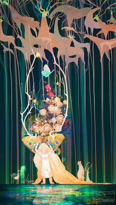 The Art Of Animation, Jie He