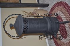 Collecting Old antique heaters this one is a rare Dangler heater/stove love it