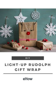 """Rudolph is known for guiding Santa's sleigh, but his glowing nose will also brighten your holiday gathering with all the festive feels. Gift recipients are sure to squeal, """"Oh, deer!"""" with delight!"""