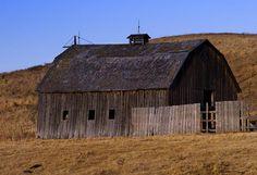 The old 567 Barn North of Cochrane, Alberta.
