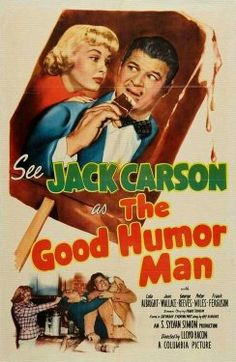 George Reeves, Jack Carson, Lola Albright, and Jean Wallace in The Good Humor Man (1950)
