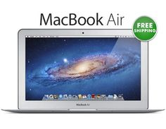 "Just $399.97! Work like a pro with the Apple Macbook Air 11.6"" w/ Intel Core i5…"